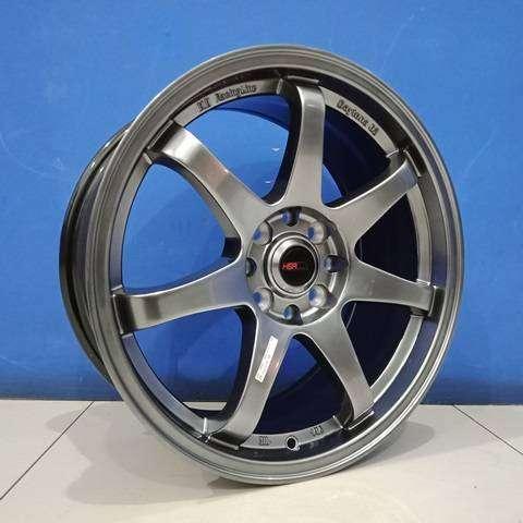 velg hsr solo - gtr sport ring 17x75 inch h8x108/1143 buat peugeot 0