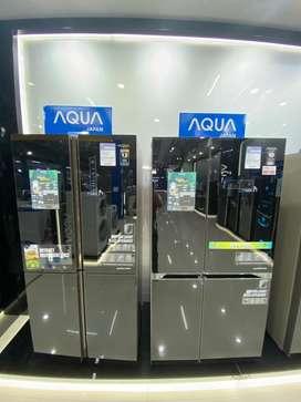 Kulkas premium aqua 456L bisa kredit