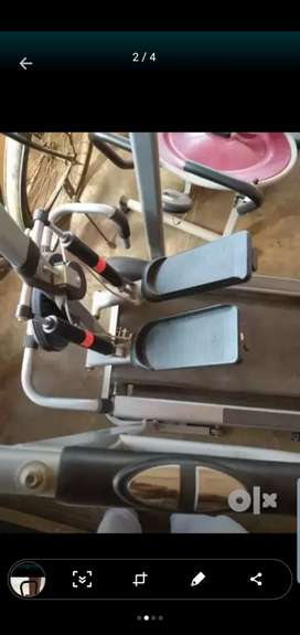 Treadmill, elliptical gym equipment