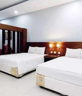 Hotel dengan 50kamar tidur lingkungan strategis pusat kota mantrijeron