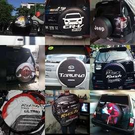 Cover/Sarung Ban Toyota Rush/Terios/Panther/CRV/Pajero-Ecosport dLL BI
