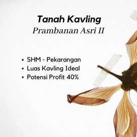 Promo 12 x BAYAR 0% Tanah Prambanan Asri II dekat Candi Prambanan