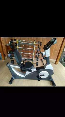 Sepeda fitnes recumbent komersial