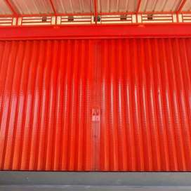 Rolling door folding gate murah 013