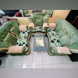 Furniture sofa avansa+meja bord