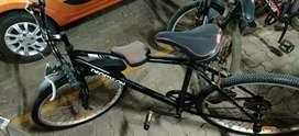 Decathlon branded cycle.