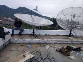 Paket Parabola Venus & K-Vision Plus Pasang Murah Sedia Antena TV