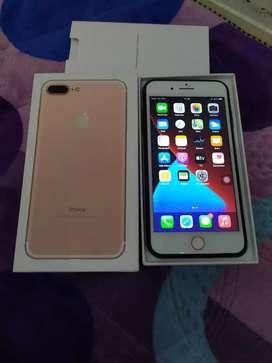 Iphone 7 plus 128GB Mulus 100%