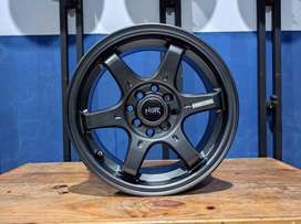 Velg Mobil Modif Baru Ring 15 Murah HSR TOKYO R15 Bukan TE37 Lebar 6,5
