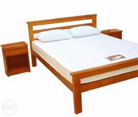 New Single Solid Wood Bed
