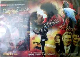 DVDs/CDs - All types (Dance Collection, Movies,etc