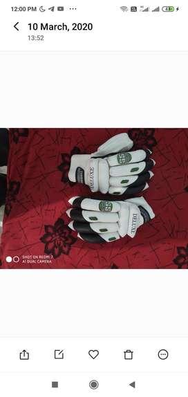 Urgently sale Cricket batting hand gloves