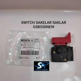SWITCH SAKELAR SAKLAR MESIN BOR IMPACT 13mm BOSCH GSB 550NEW