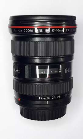 Canon 17.40 F4L Full Frame Body lens used good condition