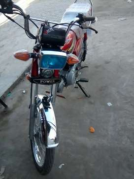 Power 70 cc 2800 km use full lush condishion with out number