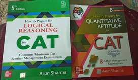 Quants and Logical reasoning books FOR CAT By ARUN SHARMA