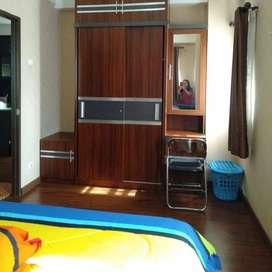 Studio Plus Super Luas ada Kamar Utama dan Ruang Keluarganya