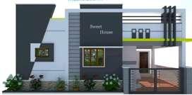 2500000 new house ready to sale for krishnapuram.