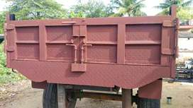 New Tipper trailer tractor work