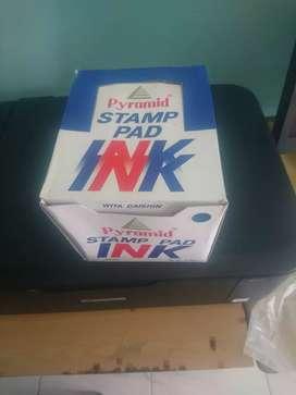 Pyramid stamp ink pad