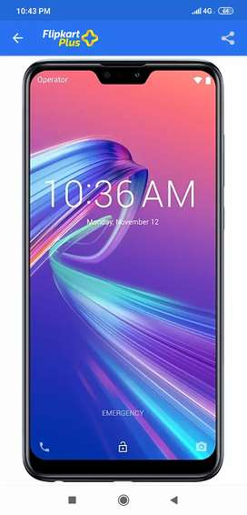 Zen Phone Max pro M2 6GB Ram 128 GB Storage