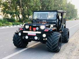 Open style hunter willys jeeps