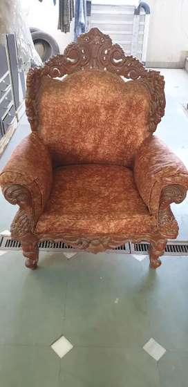 Rajwadi style sofa