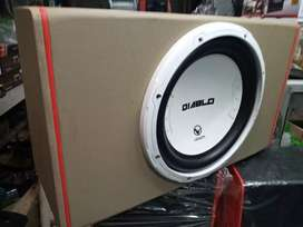Subwoofer venom Diablo 12in plus box