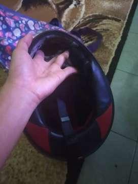 Helm fullface kyt Rc seven warna merah