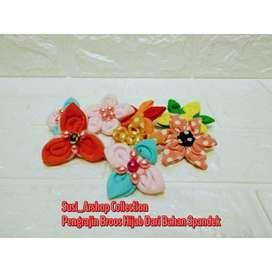 Souvenir Bros Pin Hijab/Jilbab Wanita Untuk Souvenir Acara Pernikahan