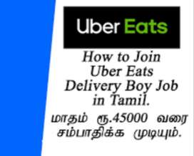 UBER EATS - Hiring for food delivery executives