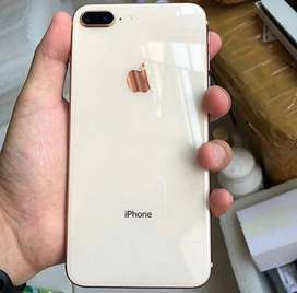I phone 8 plus in brand new condition without any scratch