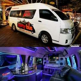 Toyota HiAce Commuter VIP Partybus (tag Alphard Vellfire) Party Bus