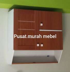 Pusat murah mebel. Kitchen set warna jati
