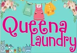 Dibutuhkan segera karyawan laundry lokasi Bukit Jl Jaksa agung