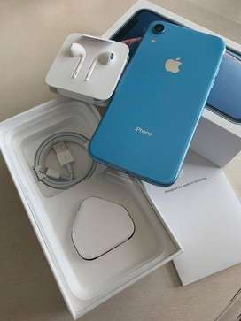 XR in 128gb blue color with full box