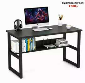 Title : best quality iron rods powder coated painted study tables