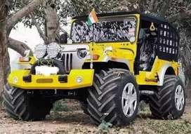 Modified yellow best jeep