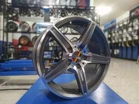 Velg racing HSR SIX ring 17 H5 bisa buat mercedes inova grandmax civic