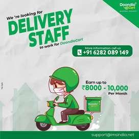 Freelance delivery partner