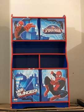 Locker Box / Lemari Buku / Lemari Pakaian Anak Karakter Spiderman