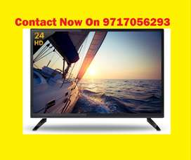 "24"" HD Ready Led TV With All Over India Onsite 1 year Warranty"