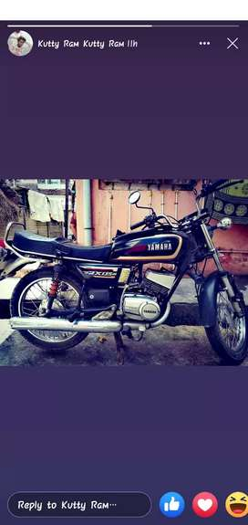 RX 135 4 th owner and maintain at good condition INSURANCE curent