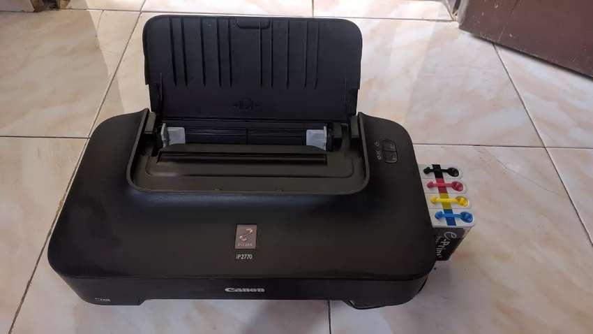 [Seken rasa BARU] Printer Canon iP 2770 + Infus 0