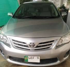 Toyota Corolla 2013 GLI 1.3 VVTI For Sale at Reasonable Rates