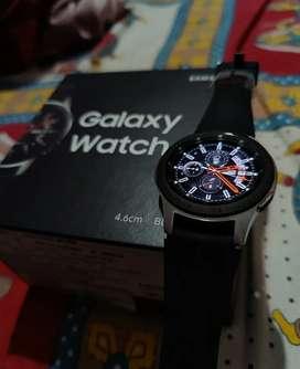 Samsung Galaxy Watch 46mm Smart Watch(Black Strap)