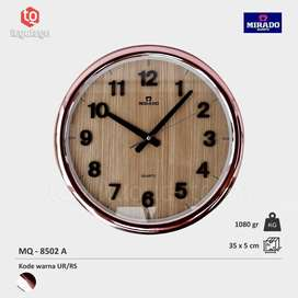 Jam Dinding Mirado MQ 8502 A UR/RS