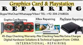Graphics Card Repairing All Kinds Brand & Models 100% Fixed