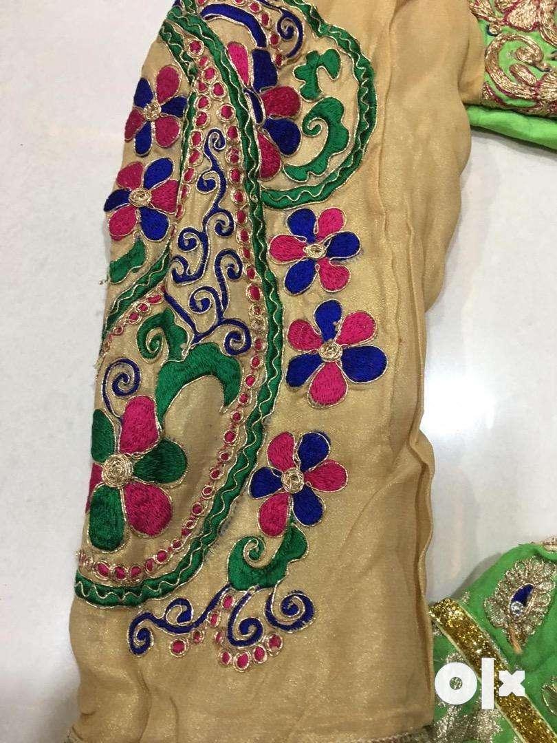 Boutique piece designer indowestern lehengha choli on sale 0