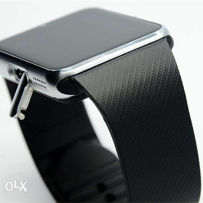 Gsm GT08 Bluetooth Smart Watch Phone Mate For iphone Android Silver 0